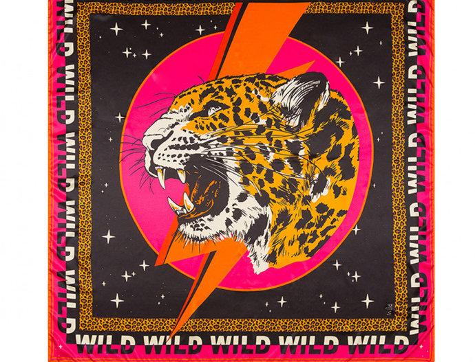 Foulard/ Paréo Wildcat Pink