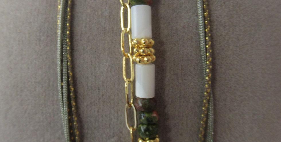 Bracelet Balinais vert