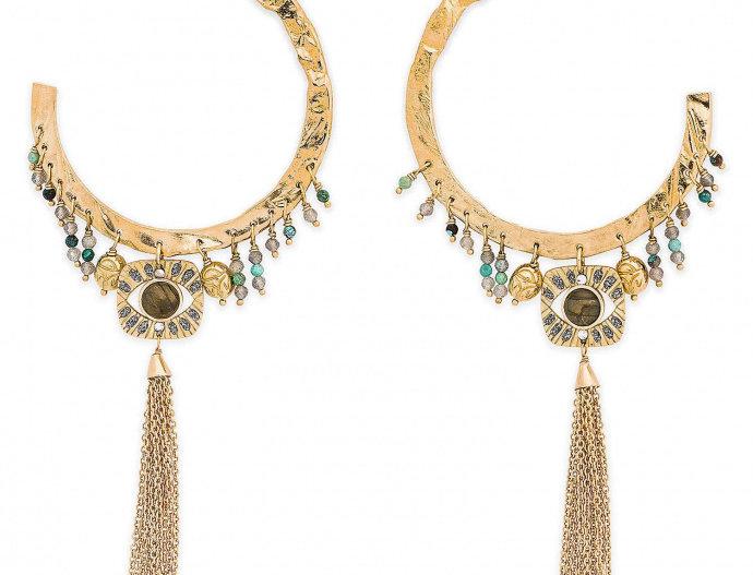 Boucles d'oreilles Cloe Gold