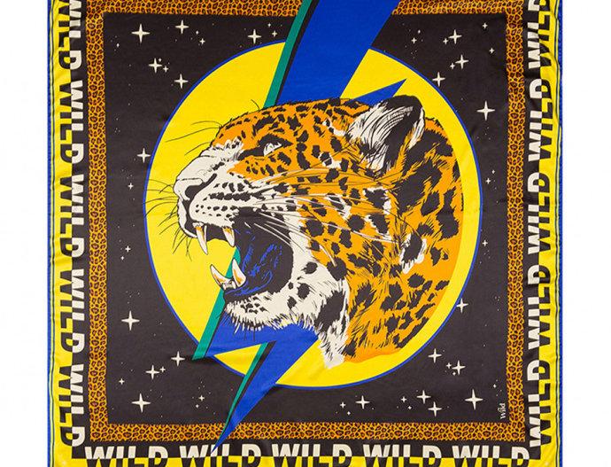Foulard/ Paréo Wildcat Yellow