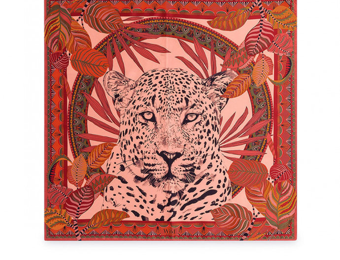 Mini Foulard Jaguar Blush