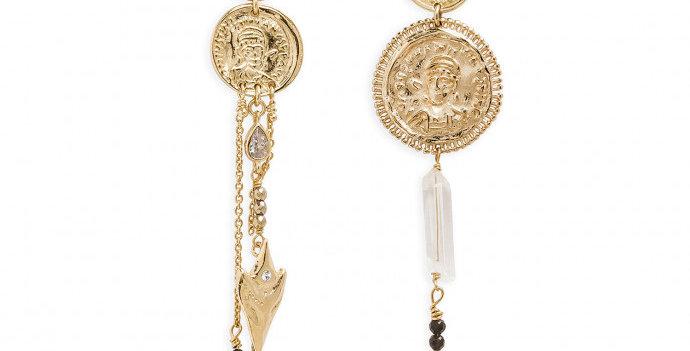 Boucles Vesuvia Gold