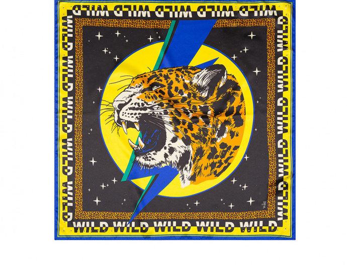 Mini Foulard Wildcat Yellow