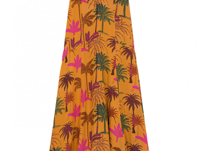 Robe Palma Caramel