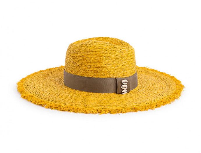 Chapeau Solal Yellow