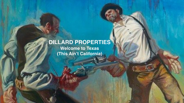 DILLARD PROPERTIES - The Right Realtor.