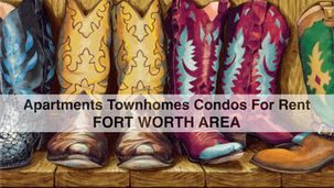 For Rent in Ft Worth Area