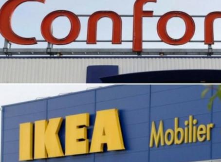 Ikea-Conforama : la bataille décisive n'aura pas lieu en centre-ville mais en périphérie