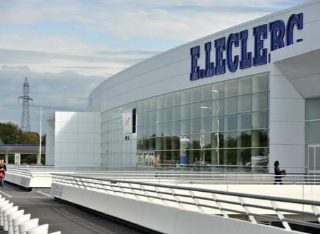 Projets de centres E. Leclerc par région en France – à fin 2018