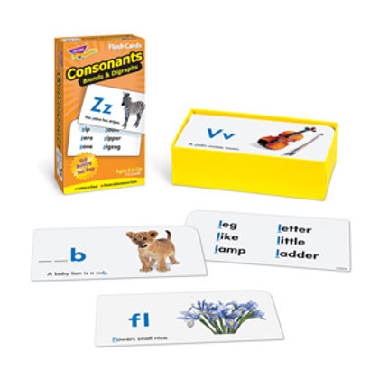 Consonants Blends & Digraphs