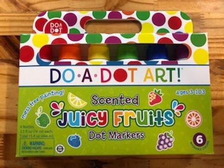 DO-A-DOT ART! Juicy Fruits 6 Pack