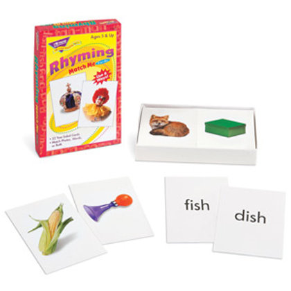 Rhyming Words Match Me® Cards