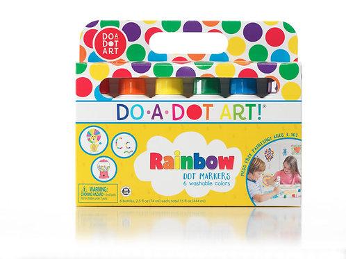 DO-A-DOT ART! Rainbow 6 Pack