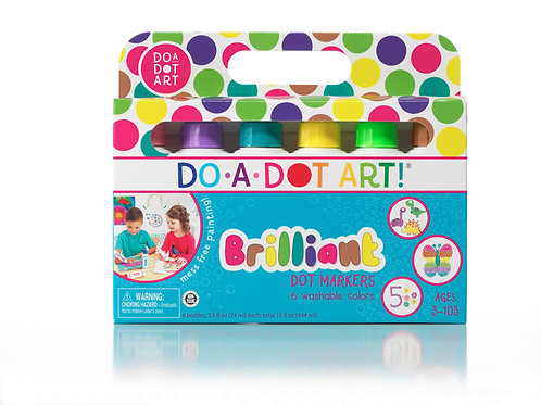 DO-A-DOT ART! Brilliant 6 Pack