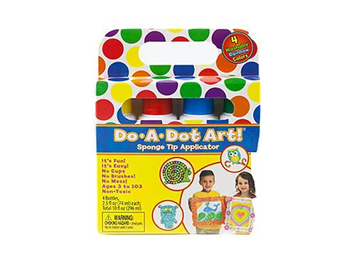 DO-A-DOT ART! Rainbow 4 Pack
