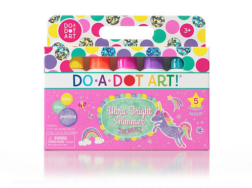 DO-A-DOT ART! Ultra Bright Shimmer 5 Pack