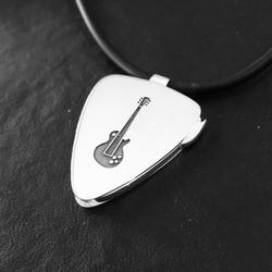 Silver Guitar pendant