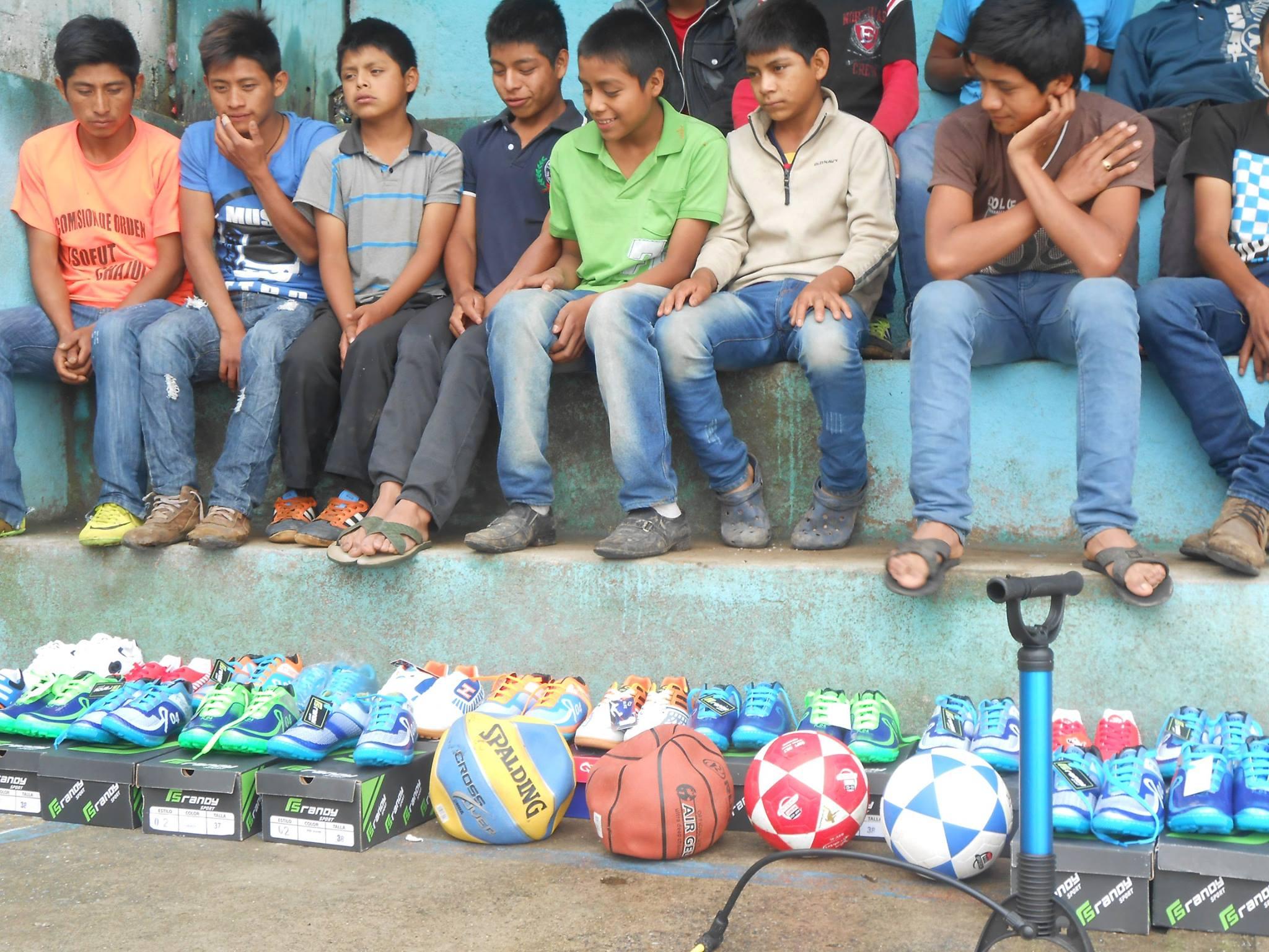 New soccer balls