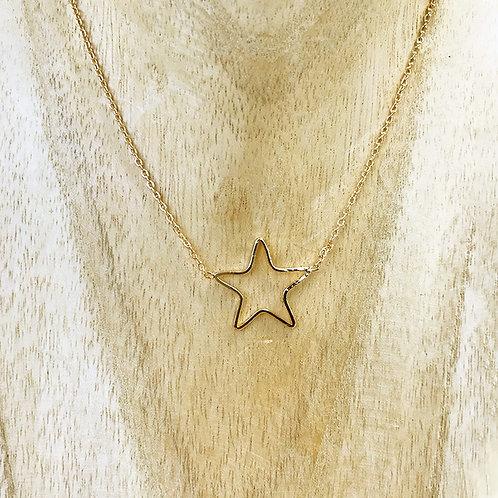 Collier Étoile doré