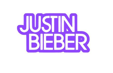 0182 justin bieber decal tag graphix custom decals wooden flags