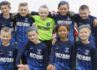Amptron supports Beeston Park Rangers Under 10s!