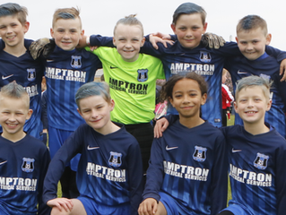 Amptron supports Beeston Park Rangers Under 10s!