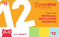 PagePlus $12 Plan