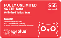 PagePlus $55 Fully Unlimited Plan