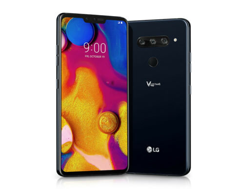 LG V40 ThinQ 64GB Black AT&T Unlocked Grade A+