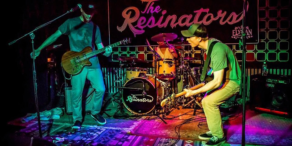 The Resinators! Live