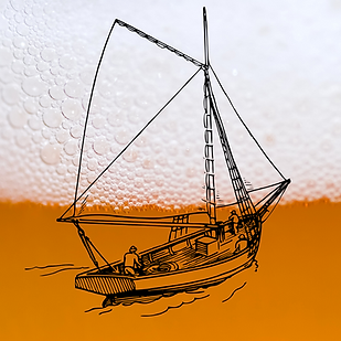 Soul Compass boat sailing on beer