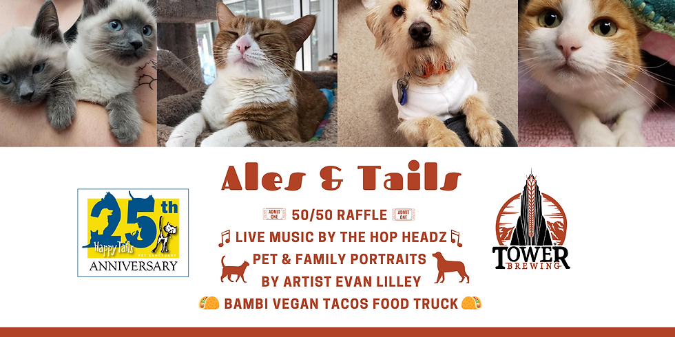 Ales & Tails Happy Tails Fundraiser