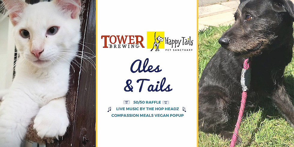 Ales & Tails Benefitting Happy Tails