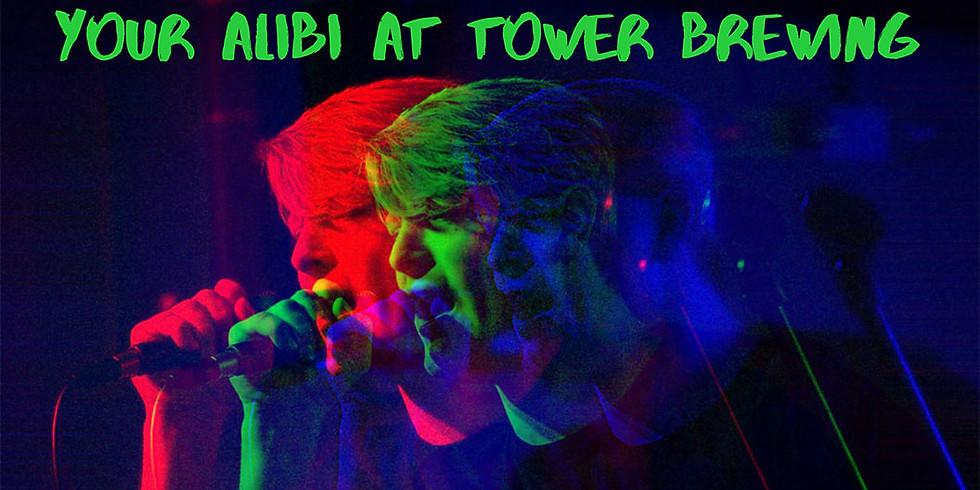 Your Alibi Live!