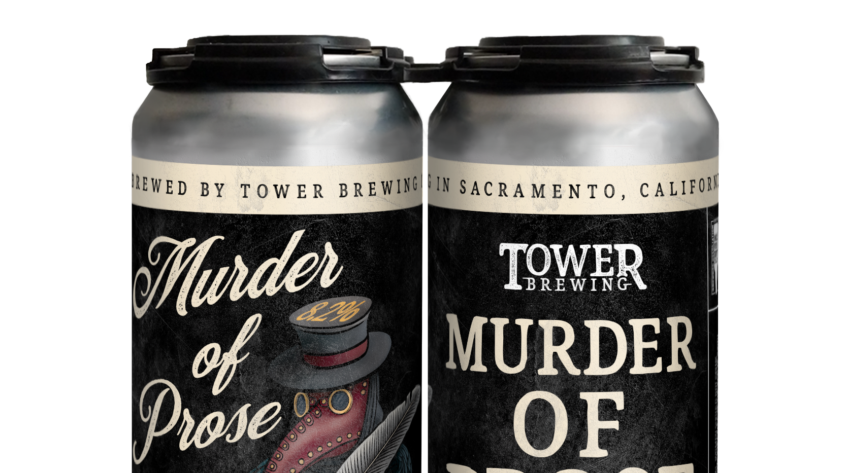 Murder of Crows cans - Tower Brewing