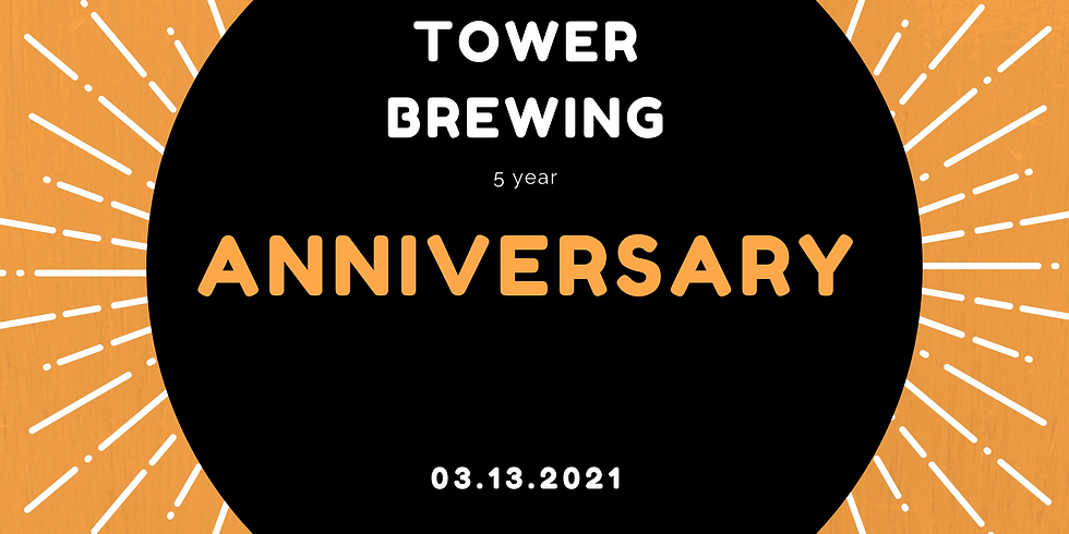 Tower Brewing Anniversary!