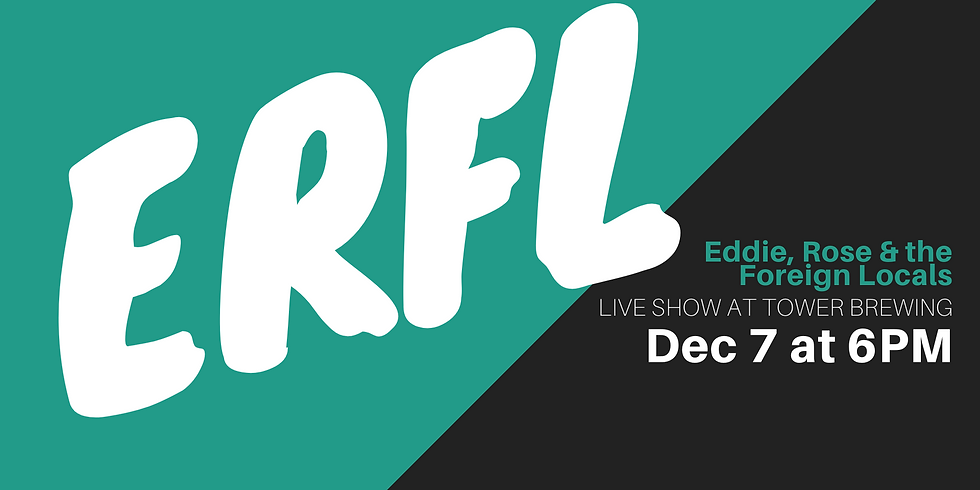 ERFL Live at Tower Brewing