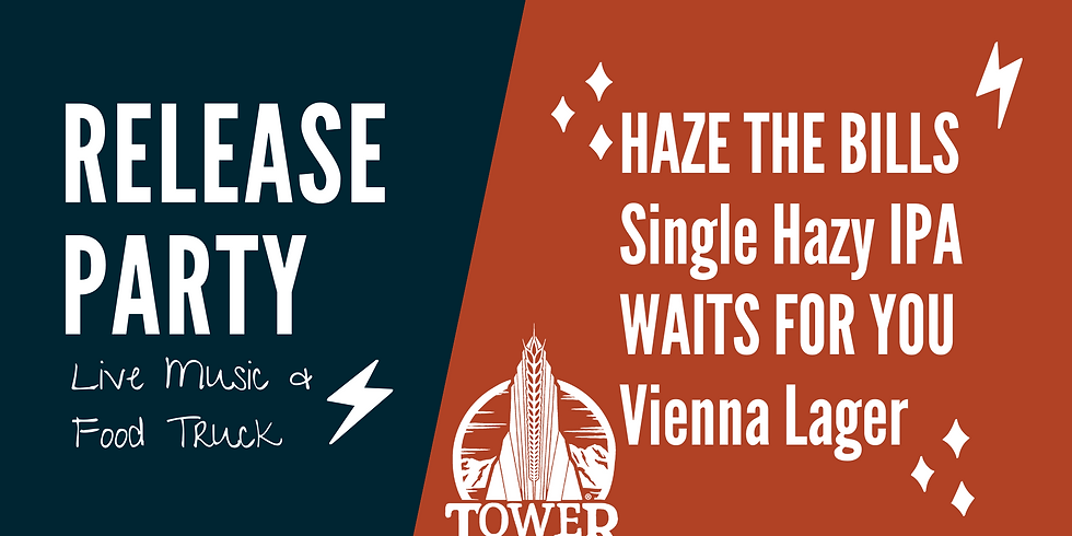 Release Party: Haze the Bills & Waits for You