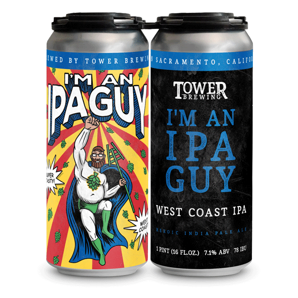 I'm An IPA Guy 4 pack cans