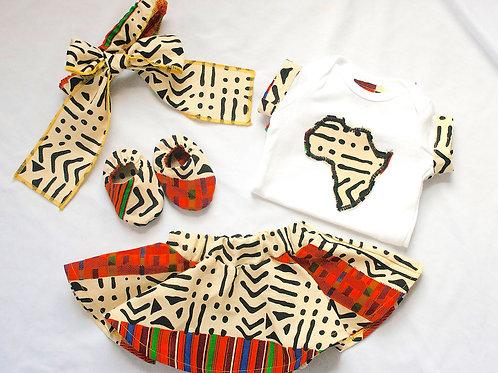 Nasirah African Kente Outfit