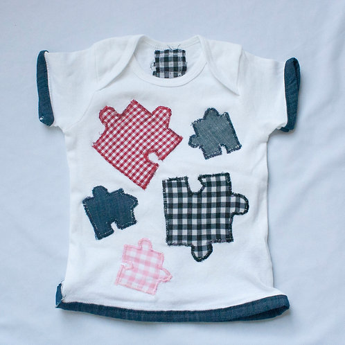 24M Puzzled Girl T-Shirt