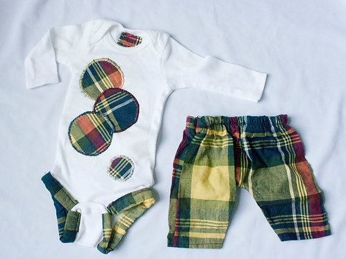 0-3M Jamil Outfit Set
