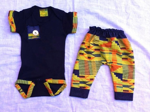Jabari African Kente Outfit