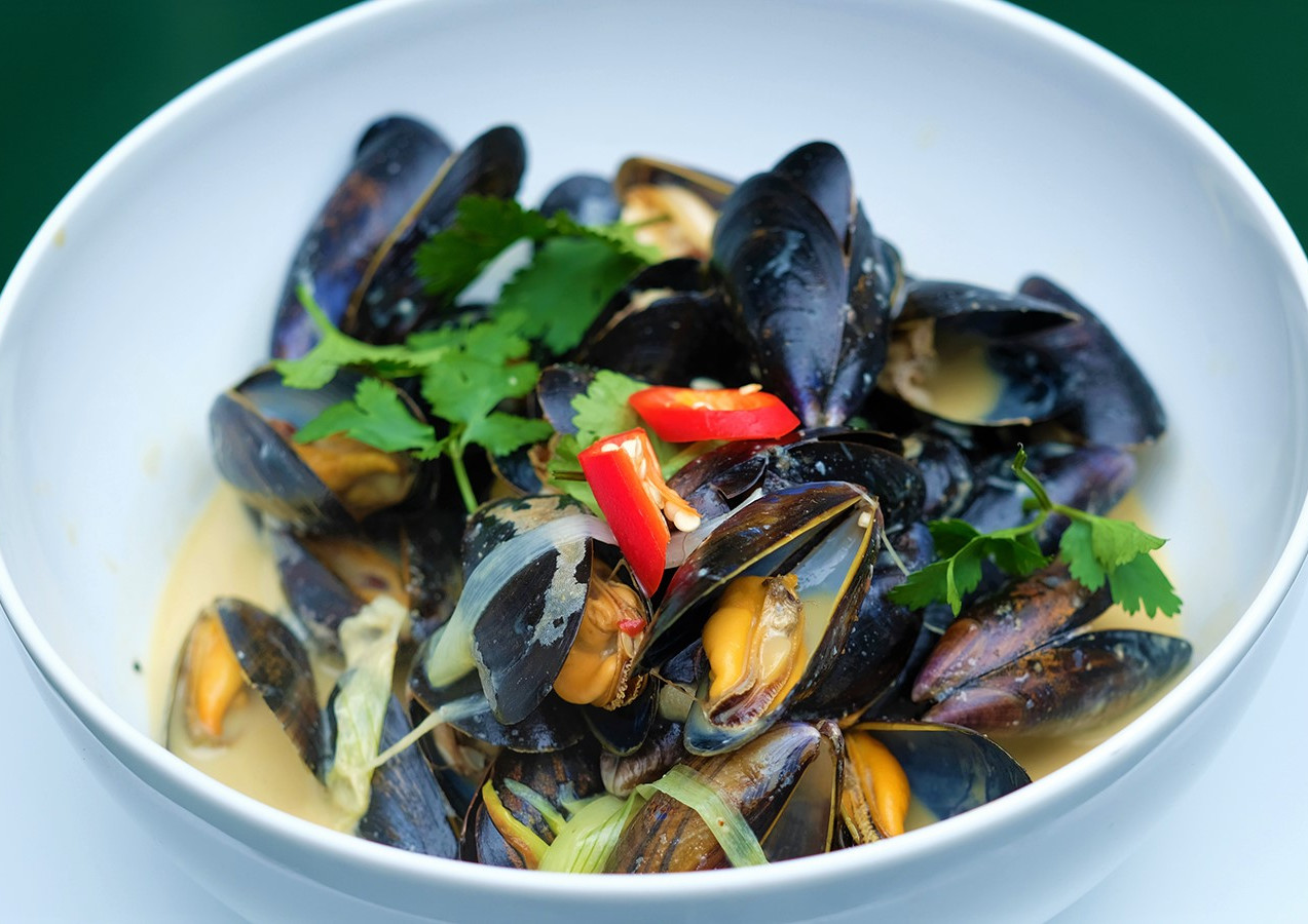 Moules Thai Style