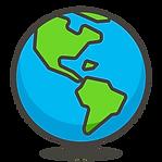 3952531-icono-mundo-mostrar-americas-gra