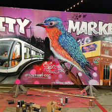 Live Painting, City Market