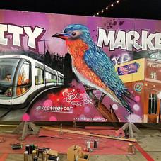 Live Painting, City Market