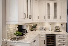 Custom kitchen designed by Design Loft at Simcoe Building Centre.