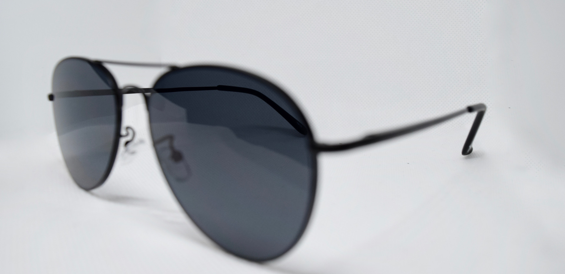 OneRule Matt Black Aviator