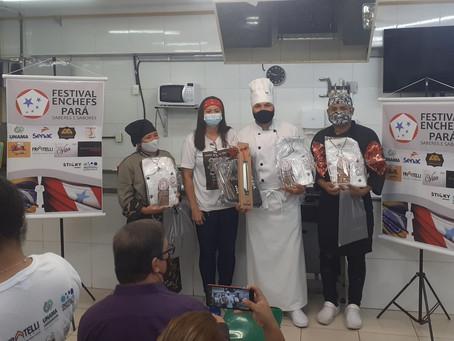 Eder Brito é o vencedor do Festival Enchefs Pará 2021